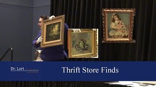 Thrift Store Finds - Paintings Valued by Dr. Lori