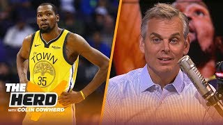 Kevin Durant shouldn't leave Warriors, Colin has a warning for the Sixers | NBA | THE HERD