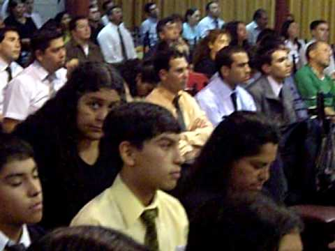 Pastor Reymundo garza templo ISRAEL SANTIAGO DE CHILE..AVI