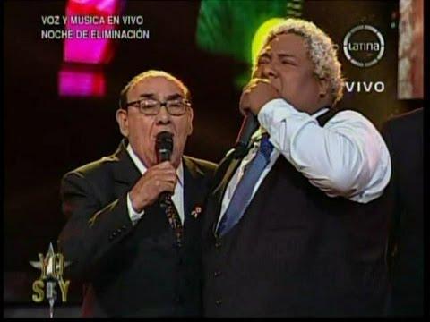 Yo Soy 18-09-13 OSCAR AVILES sorprende a EL ZAMBO CAVERO y cantan