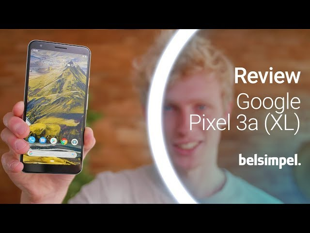 Belsimpel-productvideo voor de Google Pixel 3a XL 64GB Black