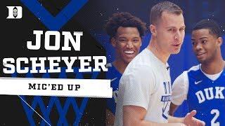 Duke Basketball: Coach Scheyer Mic'd Up (7/19/19)