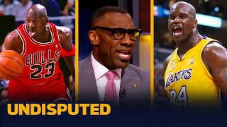 Shannon disagrees with Toni Kukoč that MJ & Shaq would be the