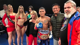 Mike Plania Vs Undefeated Giovanni Gutierrez IBF America championship