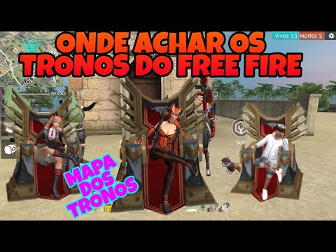 Onde Ficam os Tronos do Mundial de Free Fire?