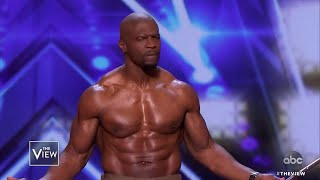 """Terry Crews on """"America's Got Talent"""" & Book """"Come Find Me"""" 