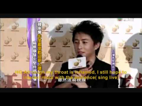 eng sub [110410] Hangeng responds to super junior m win