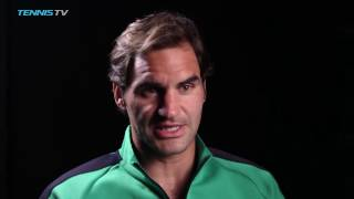 Roger Federer Confident Ahead Of Final Showdown