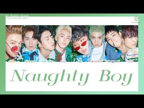 [COLOR CODED/THAISUB] PENTAGON -  Naughty Boy #พีชซับไทย