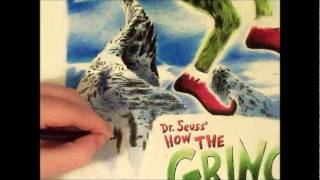 The Grinch (Jim Carrey) Speed Drawing