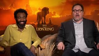 THE LION KING interviews - Donald Glover, Billy Eichner, Seth Rogen, Favreau, Ejiofor, Woodard