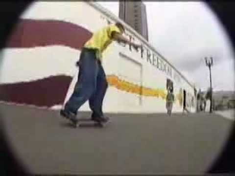 Rodney Mullen Old skate footage from 1993