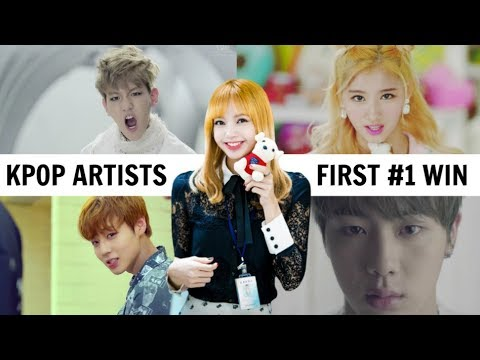 KPOP SONGS THAT GOT GROUPS THEIR FIRST WIN