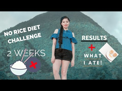 I Tried the 2 weeks No Rice Diet Challenge- Results & My Experience & What I Ate