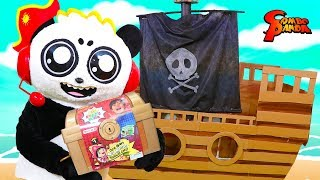 TREASURE HUNT to find Ryan's World Mystery TREASURE CHEST IN REAL LIFE!
