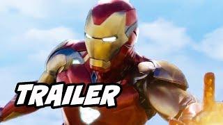 Avengers Endgame Trailer Special Look Easter Eggs Breakdown