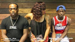 YOUNG DOLPH | BINO | PAPER ROUTE JAY FIZZLE BOSSES AND SHOOTERS INTERVIEW