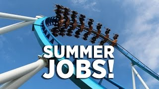 FUN Summer Jobs at Cedar Point
