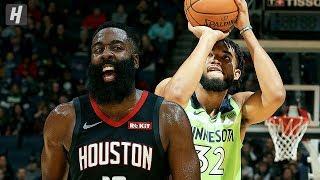 Houston Rockets vs Minnesota Timberwolves - Full Highlights | November 16, 2019 | 2019-20 NBA Season