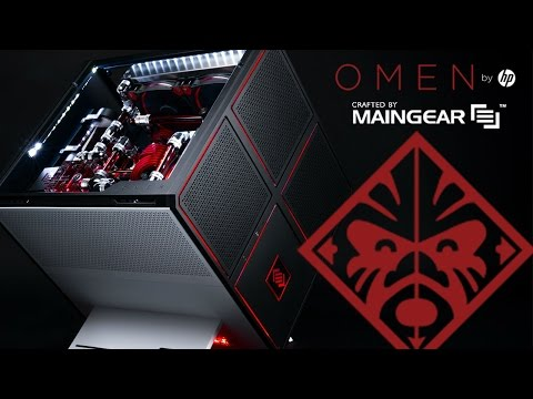 THE OMEN X BY HP - CRAFTED BY MAINGEAR