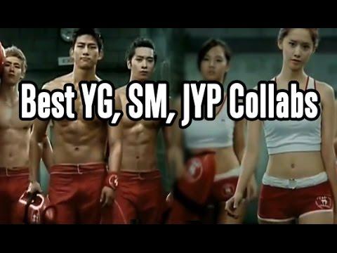 The Best YG x SM x JYP Collaborations