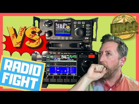 The Xiegu G90 VS. KN990 (The Meme Radio)!