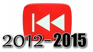 "Rewind ""Rewind YouTube"" 2012 - 2015   Compilation (Includes 2013 Original Version)"