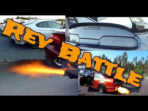 Rev battle - Bmw M6, AMG, Supra, Skyline R34, Skyline R33 - Who won?