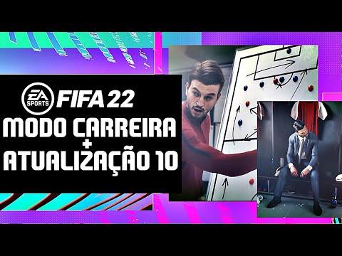 💣FIFA 22 NOVIDADE IMPORTANTE MODO CARREIRA + ATUALIZAÇÃO 10 DO FIFA 21!