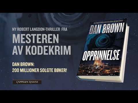 Ny Robert Langdon-thriller! Dan Brown - Opprinnelse