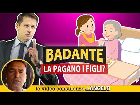 I FIGLI devono PAGARE LA BADANTE della madre   Avv. Angelo Greco