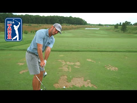 Swing plane instructional with Max Homa 2019