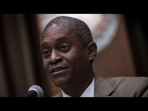 Fed's Bostic Says U.S. Economy Slowing, Needs Fiscal Aid