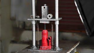 Make a 5 Ton Mini Hydraulic Press | Homemade 5 Ton Hydraulic Press Machine