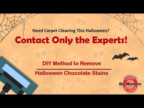 DIY method to remove Halloween Chocolate Stains