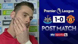 De Gea lost for words after defeat to Newcastle | David de Gea Post Match | Newcastle 1-0 Man Utd