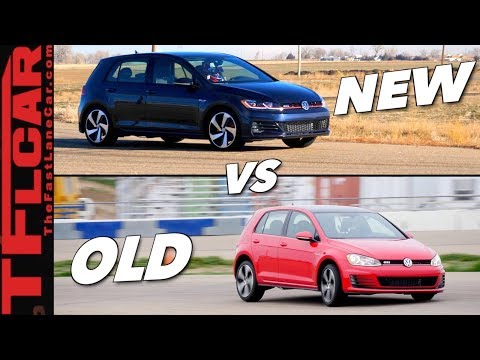 New vs Old Hot or Not: Is The 2018 VW GTI Mk 7.5 Faster Than Mk 7.0?