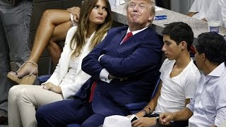 Donald Trump gets booed by crowd at US Open in his home town