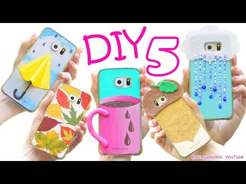 5 DIY Fall Phone Cases – How To Make Cute Phone Cases For Autumn