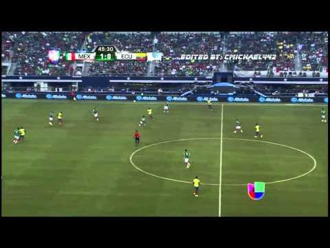 MEXICO VS ECUADOR 3-1 2014 HIGHLIGHTS HD
