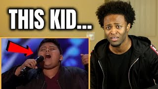 Luke Islam Receives Golden Buzzer From Favorite Judge, Julianne Hough! - America's Got Talent 2019