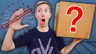 NINJA WEAPONS MYSTERY BOX to Battle PROJECT ZORGO (Gadgets Unboxing Haul Top Secret Clues of Hacker)