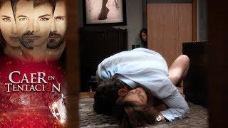 ¡Raquel y Damián encienden la pasión! | Caer en tentación - Televisa
