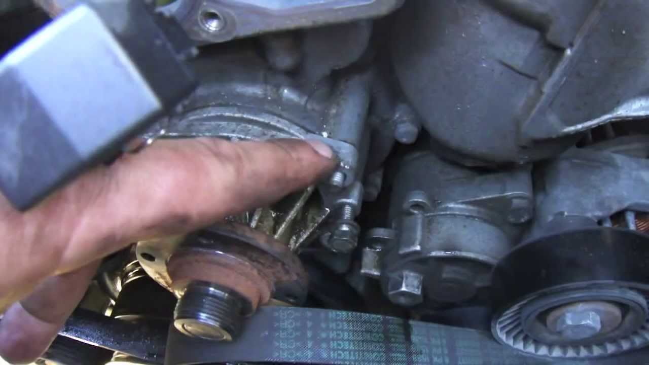 diy bmw e46 how to change water pump and thermostat youtube. Black Bedroom Furniture Sets. Home Design Ideas