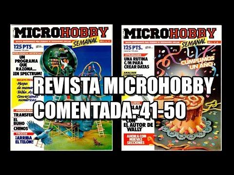 REVISTA MICROHOBBY COMENTADA VOL 6