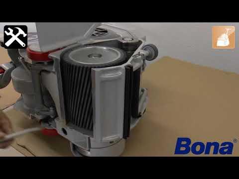 Bona Belt HD - Changing the drum