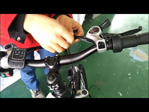 How to install the throttle EU For AN-EB001 AN-EB002 AN-EB003