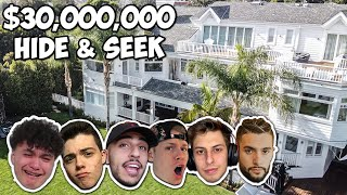 Hide And Seek In A $30,000,000 Mansion - FaZe House