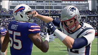 NFL Sunday Football - Buffalo Bills vs New England Patriots Week 4 (NFL 9/29/2019) – Madden 20 PS4