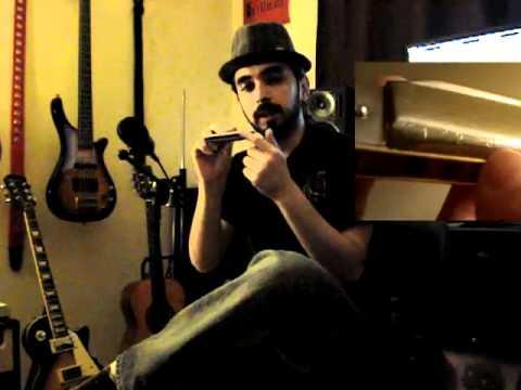 Riff Sencillo y Facil de Blues en Armonica